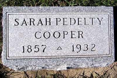 COOPER, SARAH - Sioux County, Iowa | SARAH COOPER