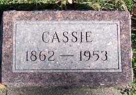 CORWIN, CASSIE - Sioux County, Iowa | CASSIE CORWIN