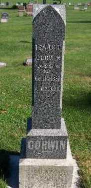 CORWIN, ISAAC T. - Sioux County, Iowa   ISAAC T. CORWIN