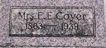 COYER, JULIA A. (MRS. E. E.) - Sioux County, Iowa | JULIA A. (MRS. E. E.) COYER