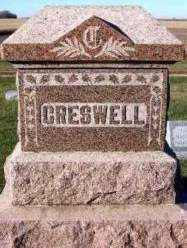 CRESWELL, FAMILY HEADSTONE - Sioux County, Iowa | FAMILY HEADSTONE CRESWELL