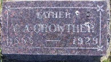 CROWTHER, G. A. - Sioux County, Iowa | G. A. CROWTHER