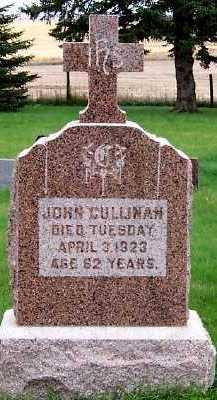 CULLINAN, JOHN - Sioux County, Iowa | JOHN CULLINAN