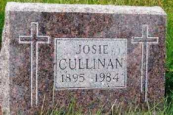 CULLINAN, JOSIE - Sioux County, Iowa | JOSIE CULLINAN
