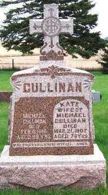 CULLINAN, KATE (MRS. MICHAEL) - Sioux County, Iowa | KATE (MRS. MICHAEL) CULLINAN