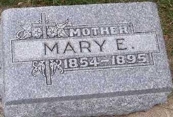 CUMMINGS, MARY E. - Sioux County, Iowa | MARY E. CUMMINGS