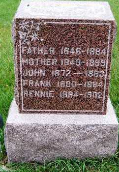 CUNNINGHAM, PETER (FATHER) - Sioux County, Iowa | PETER (FATHER) CUNNINGHAM