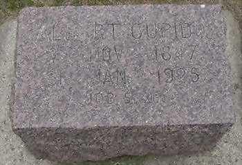 CUPIDO, ALBERT  D. 1925 - Sioux County, Iowa   ALBERT  D. 1925 CUPIDO