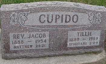 CUPIDO, JACOB REV. - Sioux County, Iowa | JACOB REV. CUPIDO