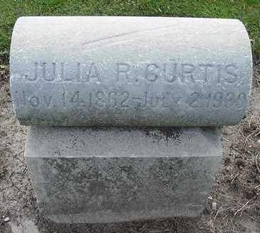 CURTIS, JULIA R. - Sioux County, Iowa   JULIA R. CURTIS