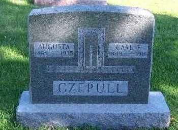 CZEPULL, AUGUSTA - Sioux County, Iowa | AUGUSTA CZEPULL