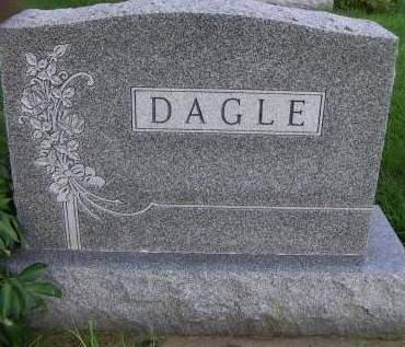 DAGLE, HEADSTONE - Sioux County, Iowa   HEADSTONE DAGLE