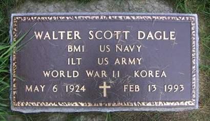 DAGLE, WALTER SCOTT - Sioux County, Iowa | WALTER SCOTT DAGLE