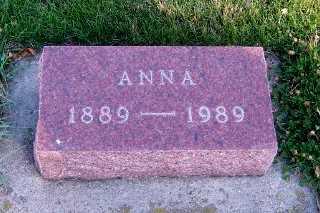 DAHL, ANNA - Sioux County, Iowa | ANNA DAHL