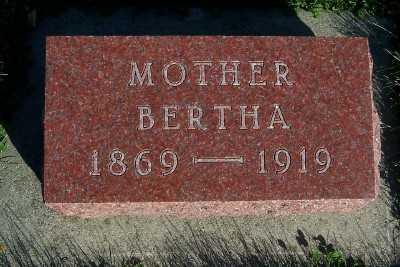 DAHL, BERTHA - Sioux County, Iowa | BERTHA DAHL