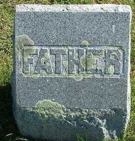 DANIELS?, FATHER - Sioux County, Iowa | FATHER DANIELS?