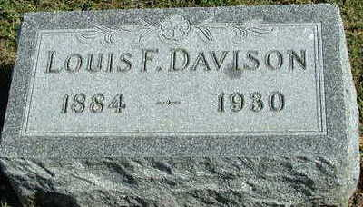 DAVISON, LOUIS F.  - Sioux County, Iowa | LOUIS F.  DAVISON