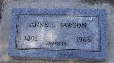 DAWSON, ANNE L. - Sioux County, Iowa | ANNE L. DAWSON
