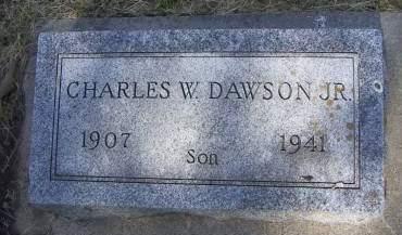 DAWSON, CHARLES W.  JR. - Sioux County, Iowa | CHARLES W.  JR. DAWSON