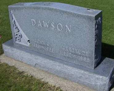 DAWSON, GERTRUDE - Sioux County, Iowa | GERTRUDE DAWSON