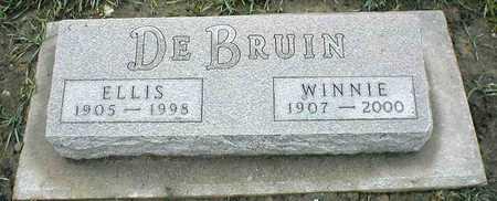 DEBRUIN, ELLIS - Sioux County, Iowa   ELLIS DEBRUIN