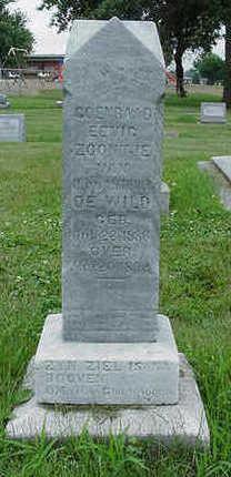 DEWILD, SON OF J. & A. - Sioux County, Iowa | SON OF J. & A. DEWILD