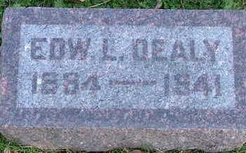 DEALY, EDW. L. - Sioux County, Iowa   EDW. L. DEALY