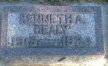 DEALY, KENNETH A. - Sioux County, Iowa | KENNETH A. DEALY