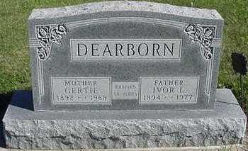 DEARBORN, GERTIE - Sioux County, Iowa | GERTIE DEARBORN