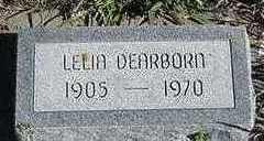 DEARBORN, LELIA - Sioux County, Iowa | LELIA DEARBORN