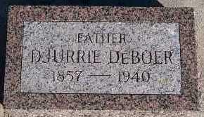 DEBOER, DJURRIE - Sioux County, Iowa | DJURRIE DEBOER