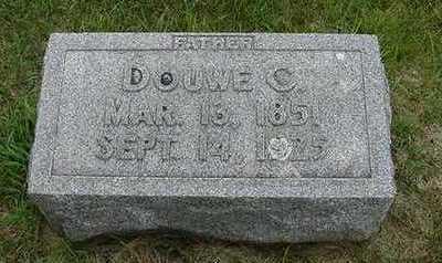 DEBOER, DOUWE C. - Sioux County, Iowa   DOUWE C. DEBOER