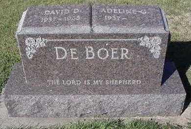 DEBOER, ADELINE G. (DAVID D.) - Sioux County, Iowa | ADELINE G. (DAVID D.) DEBOER