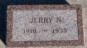 DEBOER, JERRY N. - Sioux County, Iowa   JERRY N. DEBOER