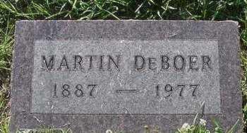 DEBOER, MARTIN - Sioux County, Iowa | MARTIN DEBOER