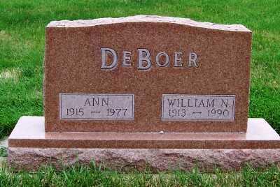 DEBOER, ANN - Sioux County, Iowa | ANN DEBOER