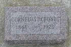 DEBONDT, CORNELIUS - Sioux County, Iowa   CORNELIUS DEBONDT