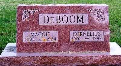 DEBOOM, CORNELIUS - Sioux County, Iowa | CORNELIUS DEBOOM