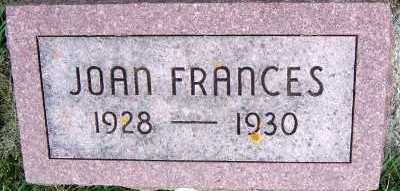 DEBOOM, JOAN FRANCES - Sioux County, Iowa | JOAN FRANCES DEBOOM