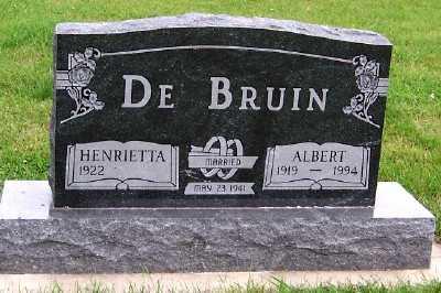 DEBRUIN, ALBERT - Sioux County, Iowa | ALBERT DEBRUIN