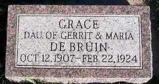 DEBRUIN, GRACE - Sioux County, Iowa | GRACE DEBRUIN