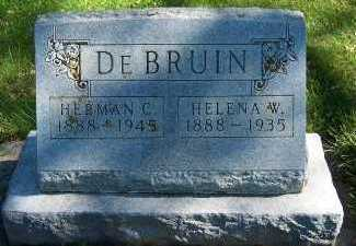 DEBRUIN, HELENA W. - Sioux County, Iowa | HELENA W. DEBRUIN