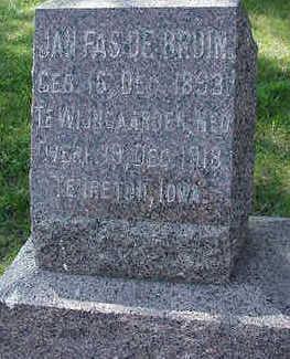 DEBRUIN, JOHN FAS - Sioux County, Iowa | JOHN FAS DEBRUIN