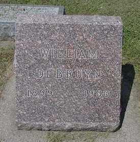 DEBRUYN, WILLIAM - Sioux County, Iowa | WILLIAM DEBRUYN