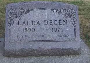 DEGEN, LAURA - Sioux County, Iowa | LAURA DEGEN