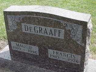 DEGRAFF, FRANCIS - Sioux County, Iowa | FRANCIS DEGRAFF