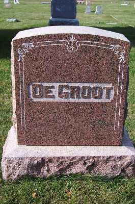 DEGROOT, HEADSTONE - Sioux County, Iowa   HEADSTONE DEGROOT