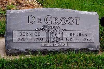 DEGROOT, REUBEN - Sioux County, Iowa | REUBEN DEGROOT