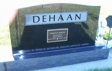 DEHAAN, DONALD R. - Sioux County, Iowa | DONALD R. DEHAAN