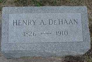 DEHAAN, HENRY A. - Sioux County, Iowa | HENRY A. DEHAAN
